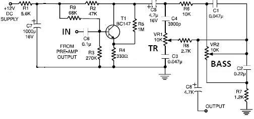 Hi-Fi Dx Bass Circuit