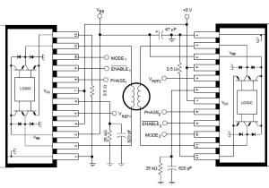 A3952S stepper motor controller circuit diagram