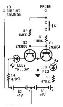 AC DC indicator circuit diagram