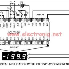 Digital Clock Circuit Using 555 Timer Diagram 1976 Honda Ct70 Wiring Icl7106 Voltmeter