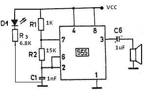 Truelogics: Electronics Ciruits : Mosquito repellent circuit