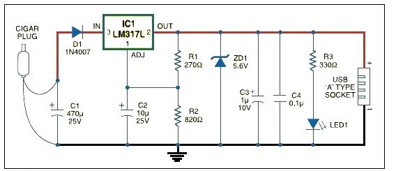 mini usb power wiring diagram for 50cc chinese atv car charger great installation of circuit rh electroniq net
