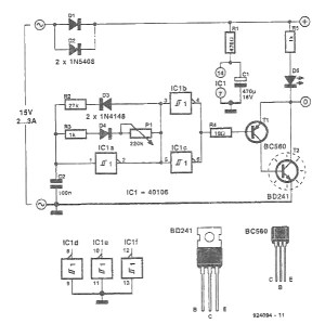 PWM 12V dc motor speed controller circuit diagram