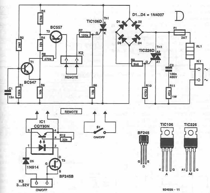 Schematic Led Timer 556