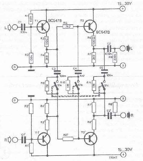Noise attenuator for FM stereo broadcast