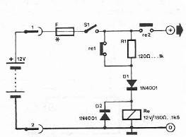 Safety polarity circuit connection diagram