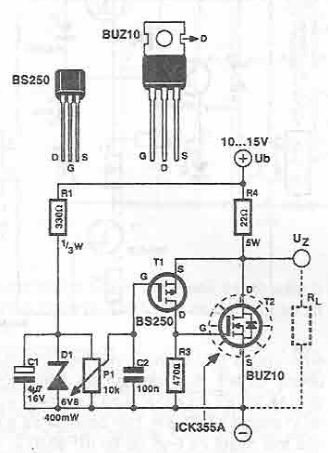 Super zener circuit diagram
