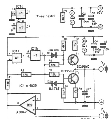 Triangular wave signal generator