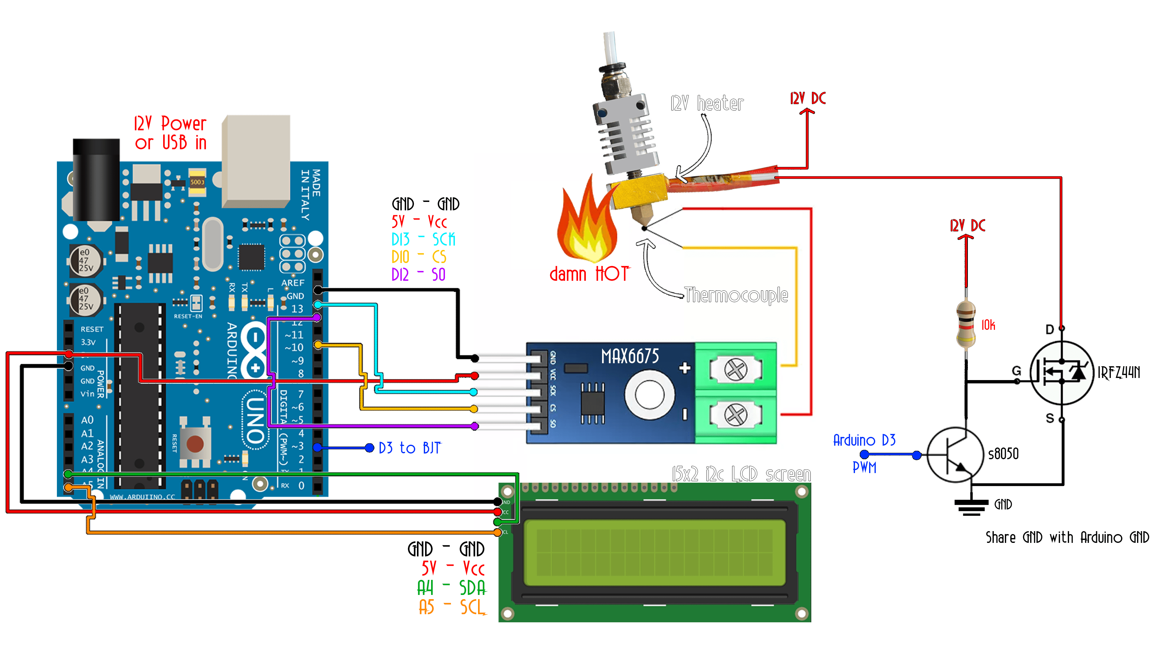pid temperature controller kit wiring diagram electrical car toyota arduino tutorial downlaod schematic here