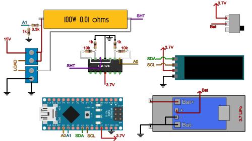 small resolution of power meter schematic arduino