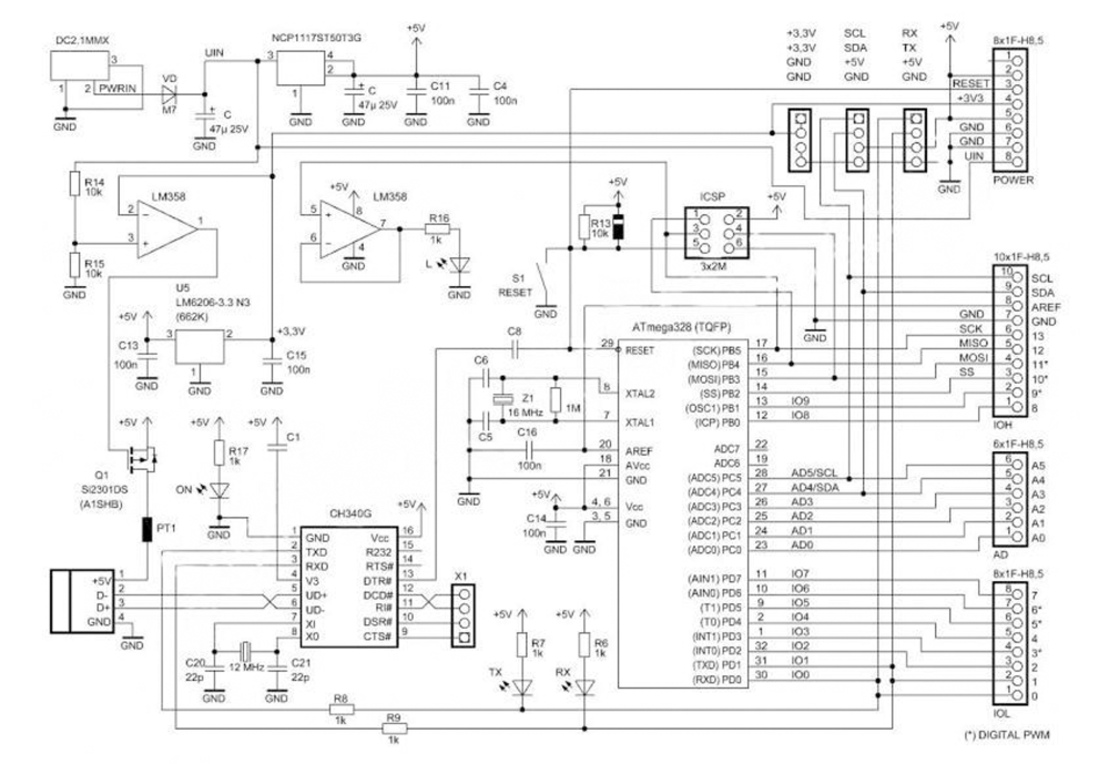medium resolution of arduino uno schematic arduino uno schematic arduino wiring diagram arduino uno r3 schematic diagram arduino uno