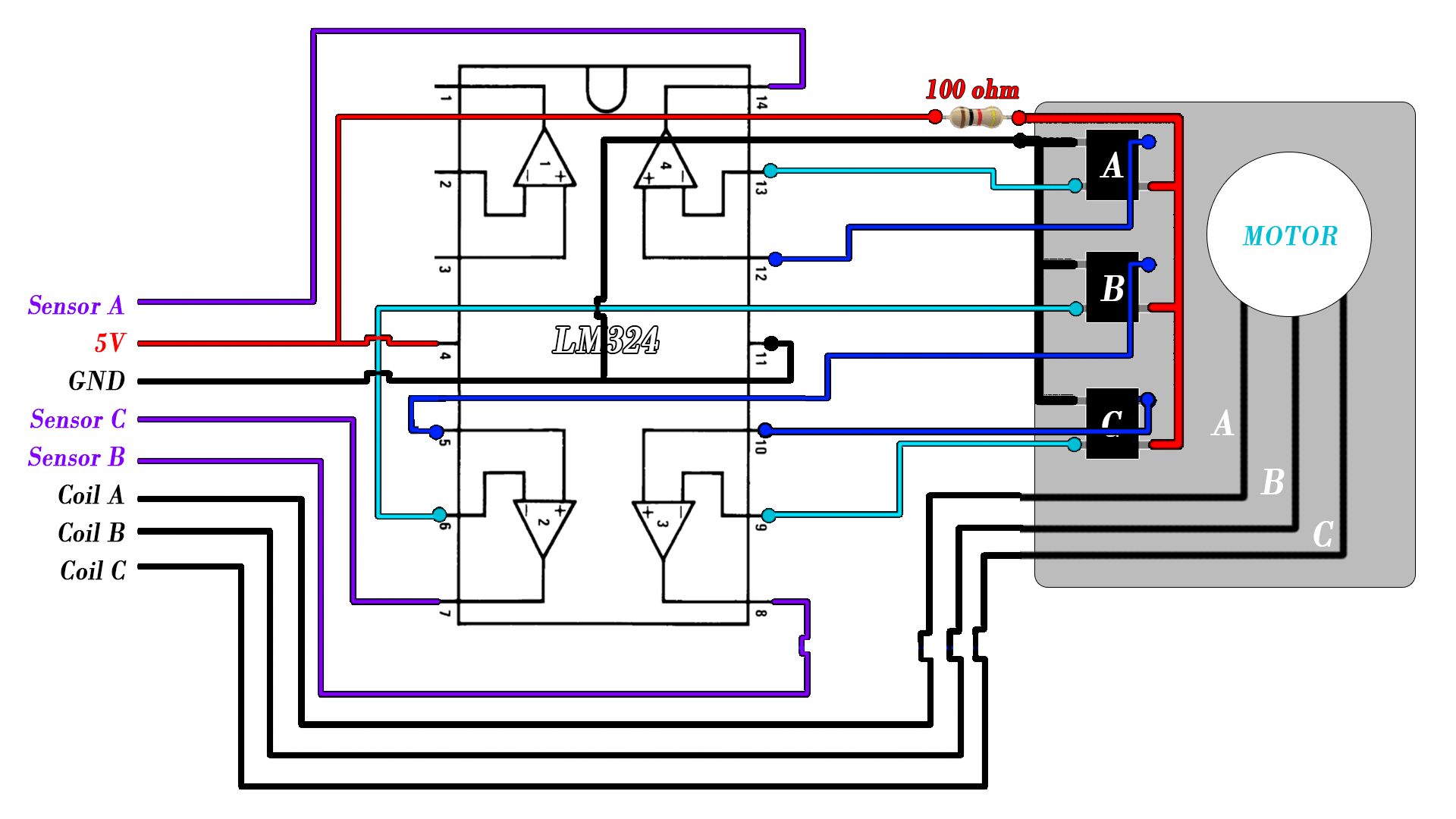 hight resolution of cd brushless schematic hall sensors