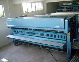 %Folding machine Jensen, high performance