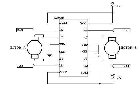 L293d motor controller problems