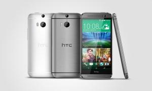 HTC One M8-Gunmetal-Silver