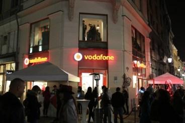lansarea noului magazin Vodafone Lipscani