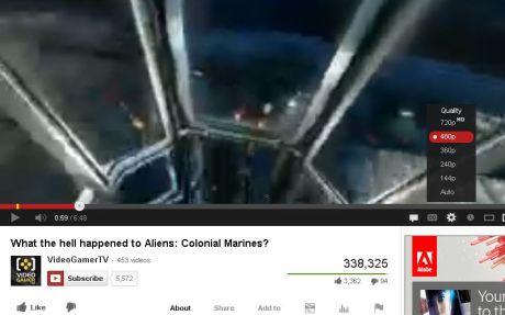 144p en YouTube