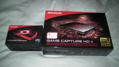 Ambas capturadoras de AverMedia
