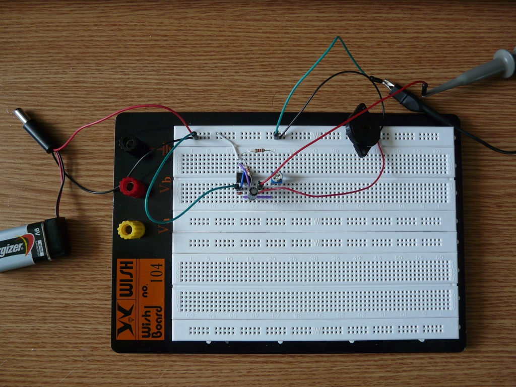 Phototransistor Circuit Diagram On Breadboard Wiring
