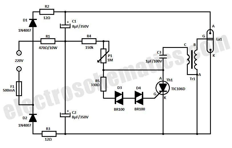 flashing lights circuit