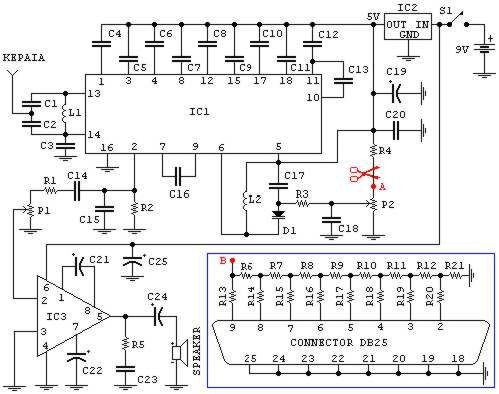 3 5 Microphone Wiring Diagrams Pc Fm Radio Circuit