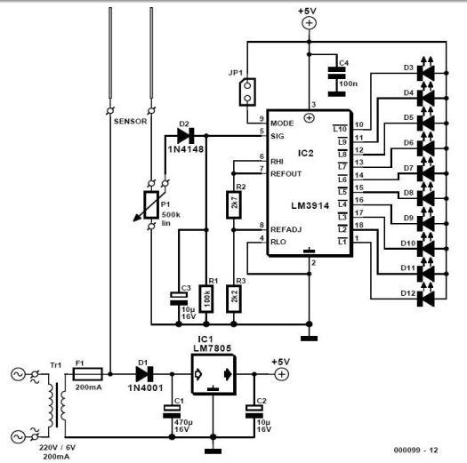 soil moisture sensor schematic diagram  u2013 periodic