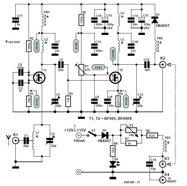 vhf radio wiring