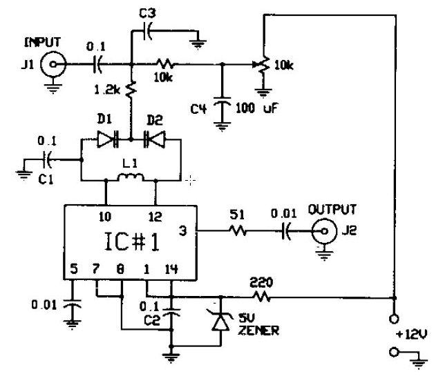 fm modulator circuit diagram