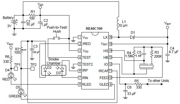 gas detector circuit diagram