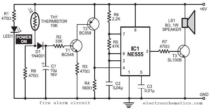 Fire Alarm Circuit