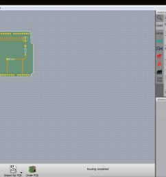 fritzing software pcb view [ 1280 x 733 Pixel ]