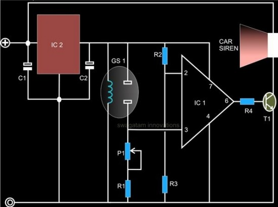 Gas Smoke Sensor Circuit Diagram Tradeoficcom
