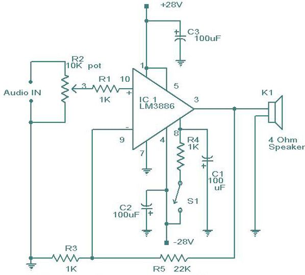 Ansul Wiring Diagrams Lm3886 Amplifier Circuit