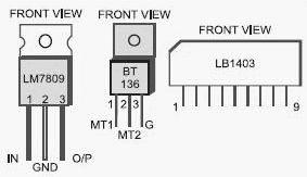 Light Chaser Circuit