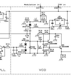 pll fm transmitter circuit schematic [ 1962 x 699 Pixel ]