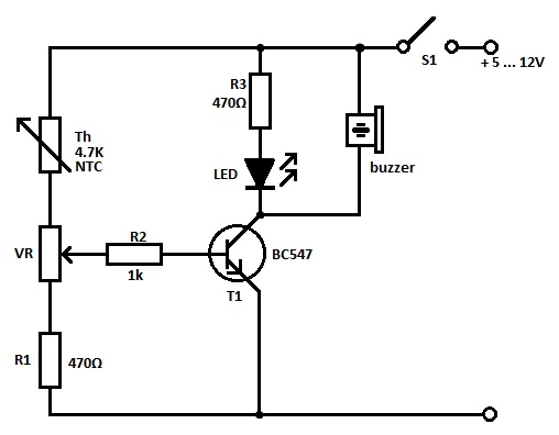 Temperature Sensors Circuits