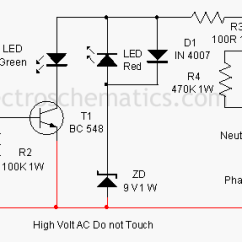 220v Wiring Diagram Plug Car Charging System Earth Fault Indicator Circuit
