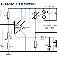 Solar Wiring Diagram With Generator Tiny Pwm Impulse Modulated Infrared Transmitter Circuit