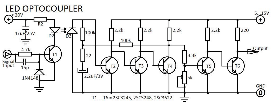 Universal Optocoupler Triac Controller Circuit