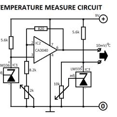 Digital Temperature Controller Circuit Diagram Sears Lawn Mower Parts Sensor Wiring All Data Indicator Basic Schematics Symbols