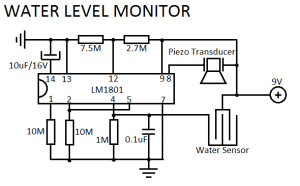 Water Level Sensor Circuit