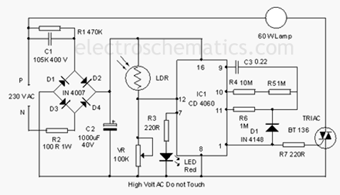 Backyard Lamp Circuit