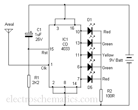 Radiation Sensor Circuit