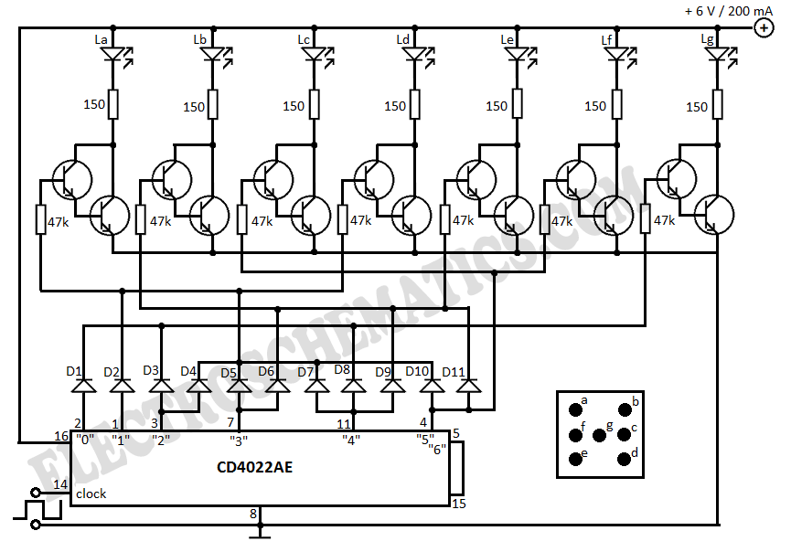 flashing light circuit with transistors flashing light with triacs