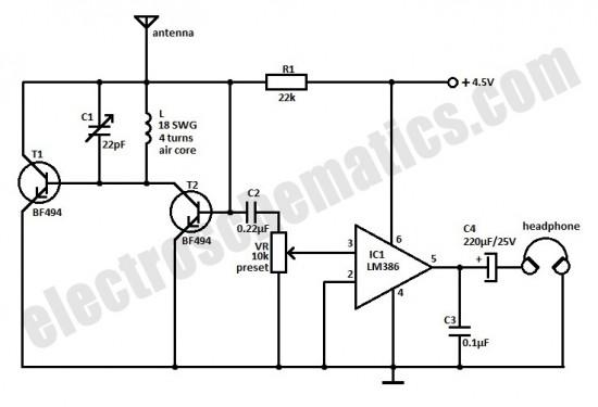 Small FM Radio Circuit