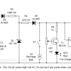 Led Wiring Diagram 9v Full House Light Circuit Data Schema Online Flasher 9 Volt