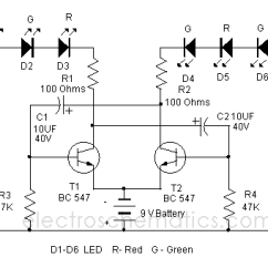 Can Light Wiring Diagram Motor Dancing Circuit
