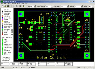 free circuit diagram drawing software lte call flow basic homemade pcb
