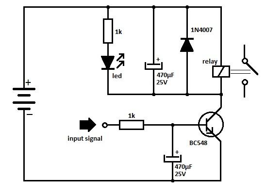 12v 5 pin relay wiring diagram 1996 civic radio transistor driver circuit schematic