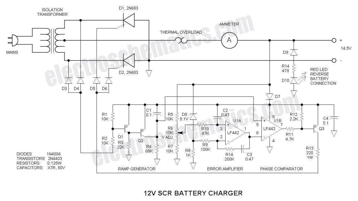 Battery Desulfator Circuit Diagram